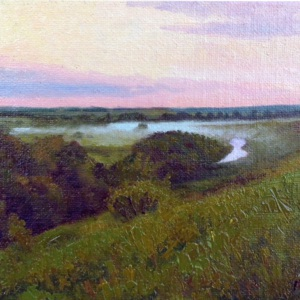 The Dawning Hour canvas oil.jpg