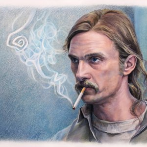 Matthew McConaughey в роли Rust Cohle (True detective)