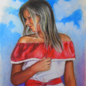 Portrait of a girl 7 - 30x40 2017 pastel.jpg